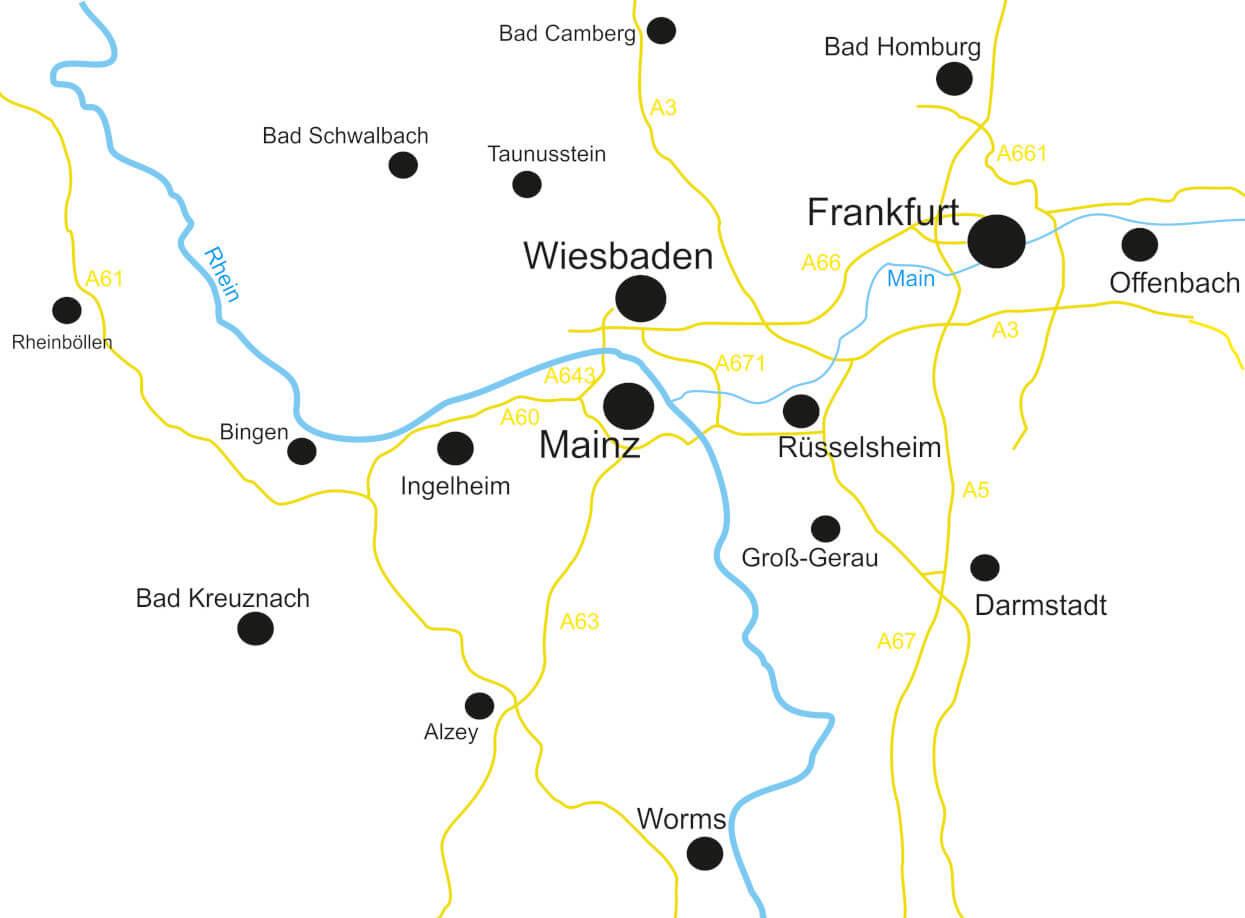 Entrümpler - Einzugsgebiet Rhein-Main
